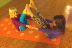 Kids Yoga Partner Boat