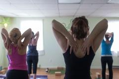 Yoga Class Heart Opener